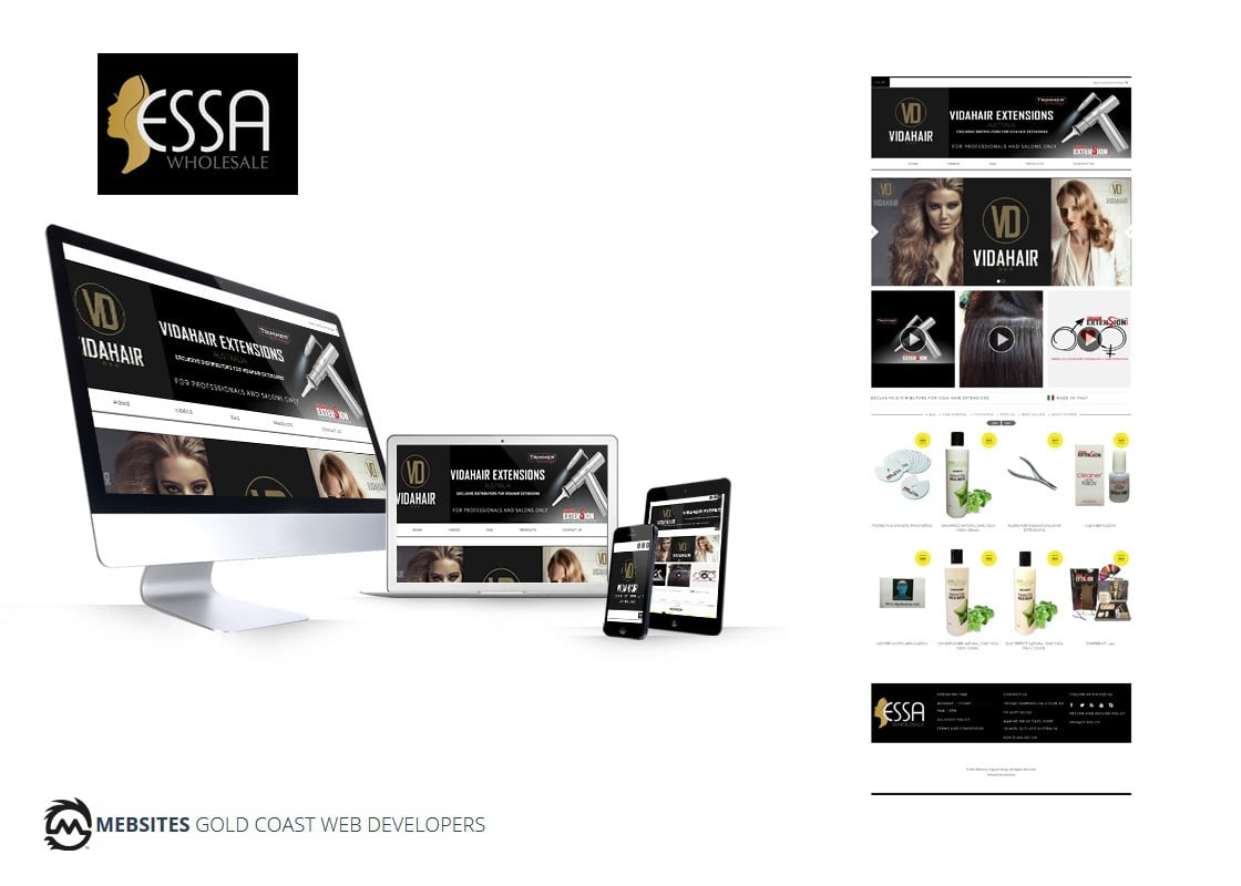 Essa Wholesale - Magento eCommerce Website