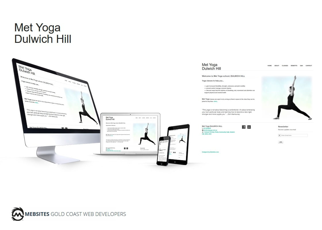 Yoga Studio - Wordpress