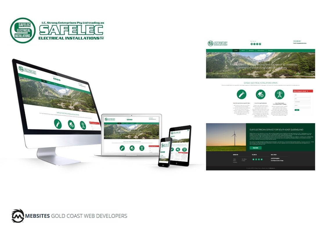 Corporate Electrical Services Website Design - Wordpress