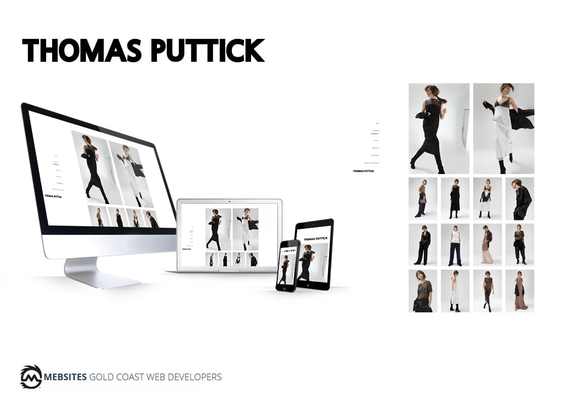 Thomas Puttick - Fashion ICON Brand - Custom Magento Theme