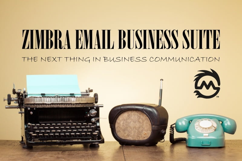 Zimbra Business email collaboration suite